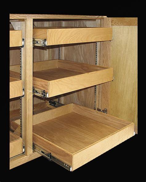 kitchen cabinet shelving racks 40 best images about cabinet storage on pinterest trash
