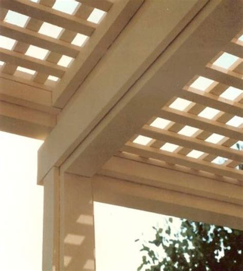 flush beam patio cover deck master fine decks