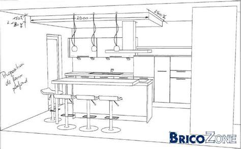hauteur plan de cuisine qui mange sur des tabourets dans sa cuisine page 2