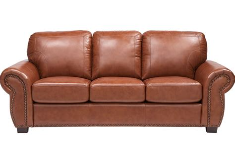 balencia light brown leather sofa leather sofas brown