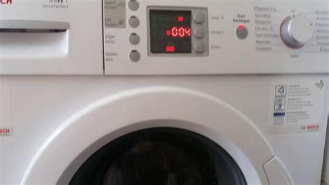 Bosch Waschmaschine Fehler Löschen by Bosch Maxx 7 Vario Waschmaschine