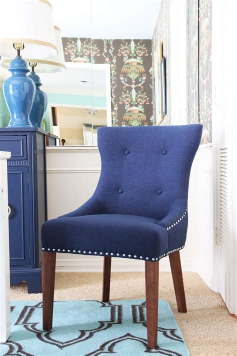 blue dining chairs winda 7 furniture