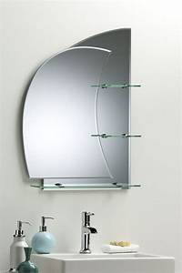 bathroom mirror with shelves stunning nautical design With bathroom mirror with shelf attached