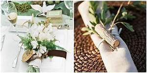 Decoration Table Mariage Nature Le Mariage