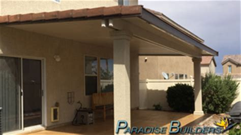 patio covers by paradise builders 702 242 0271 las vegas