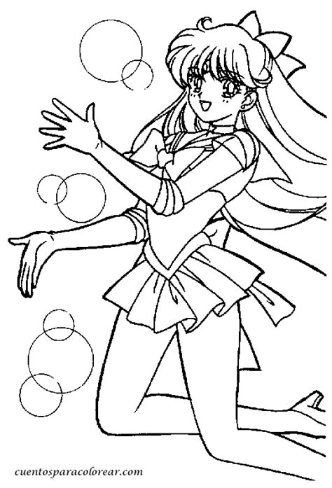 princess serenity coloring pages