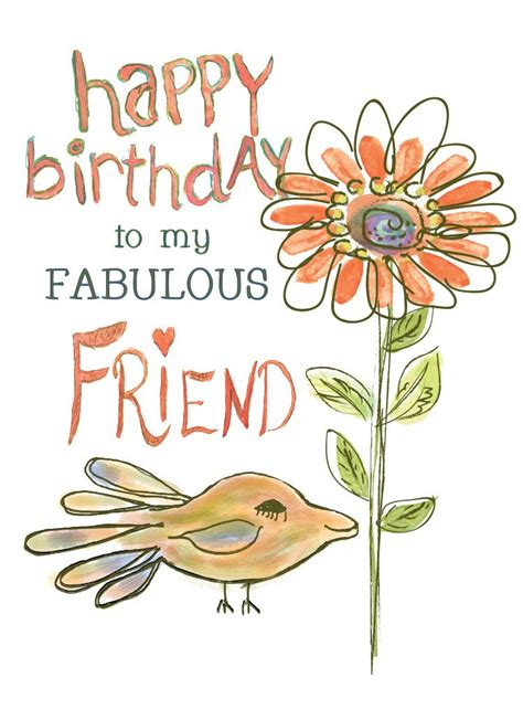 Send beautiful animated happy birthday ecards from 123cards.com to your friends and family. Happy Birthday to a Fabulous Friend Greeting Card