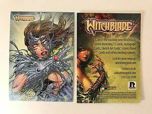 PROMO CARD: WITCHBLADE COMIC by BREYGENT 2013 RHODE ISLAND ...