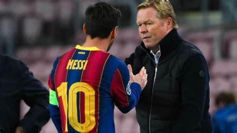 Koeman Cadangkan Messi saat Barcelona Vs Betis, Ini Alasannya