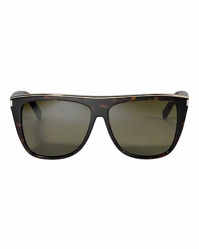 Sunglasses Flat Laurent Saint Square Accessories Intermix