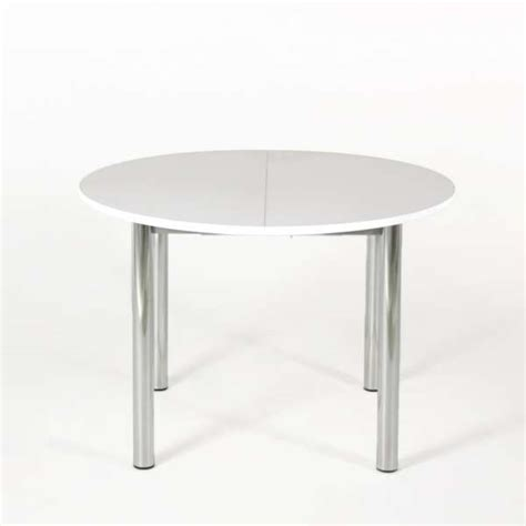 table de cuisine ronde extensible en stratifi 233 lustra