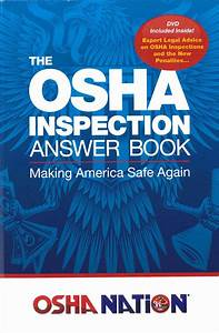 The Osha Inspection Answer Book By Mark Moran  U2013 Crane