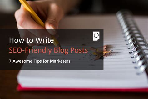 How Write Seo Friendly Blog Posts Awesome Tips For