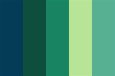 blue green color palette blue n green color palette