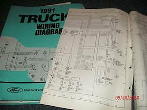 1991 Ford F600 F800 F 600 F 800 Cowl Wiring Diagrams
