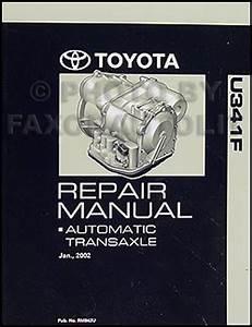 Toyota Matrix 4wd Awd Automatic Transmission Repair Manual