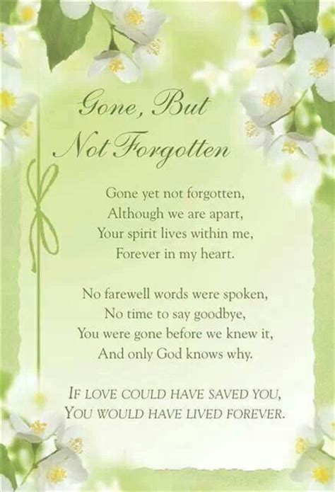 gone but not forgotten quotes mom