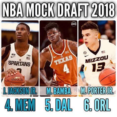 2018 NBA MOCK DRAFT 6. Orlando Magic - Michael Porter Jr ...