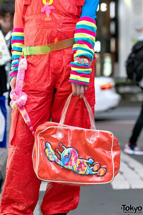 harajuku fashion walk organizer junnyan wearing