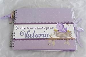 Album Photo Naissance Fille : livre d or naissance bapt me oiseaux mauve ~ Dallasstarsshop.com Idées de Décoration