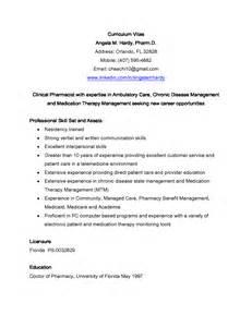clinical pharmacist curriculum vitae clinical pharmacist resume sales pharmacist lewesmr