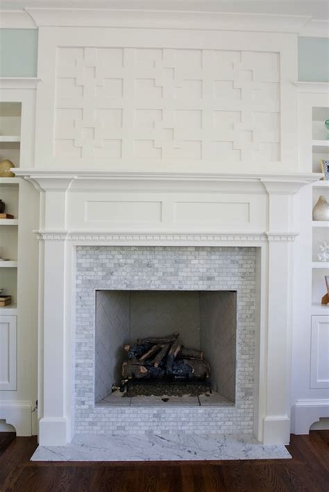 fireplace millwork transitional living room benjamin