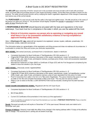 Boat Registration Dc bill of sale form louisiana boat bill of sale templates