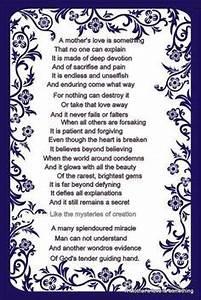 Printable Christian Mother's Day Poems | Printable ...