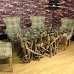 Details About Teak Root Wood Saturday Kitchen Style Dining