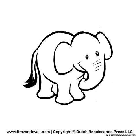 elephant clipart black and white white elephant clipart 19