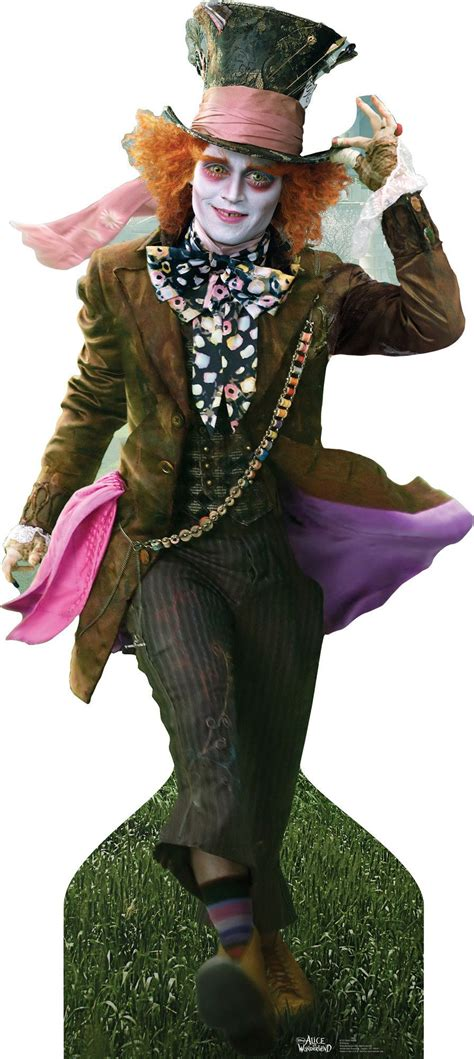 Verrückte Hutmacher Johnny Depp by Mad Hatter Johnny Depp Lifesized Stand Up Cool Stuff