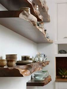 Küchen Wandregale : regal selber bauen wandregale aus massivholz teller tassen ~ Pilothousefishingboats.com Haus und Dekorationen