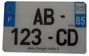 Plaque Immatriculation Mobylette : plaque immatriculation blanche homologu 210 mm x130 mm ets mauger ~ Medecine-chirurgie-esthetiques.com Avis de Voitures