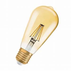 Ampoule Vintage Led : osram ampoule led edison vintage e27 4w 35w a ~ Edinachiropracticcenter.com Idées de Décoration