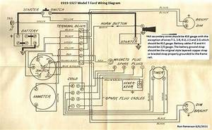 1919 Model T Wiring Diagram