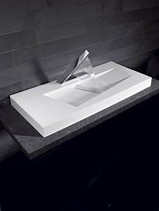 double vasque salle de bain brico depot With salle de bain design avec evier cuisine en pierre pas cher
