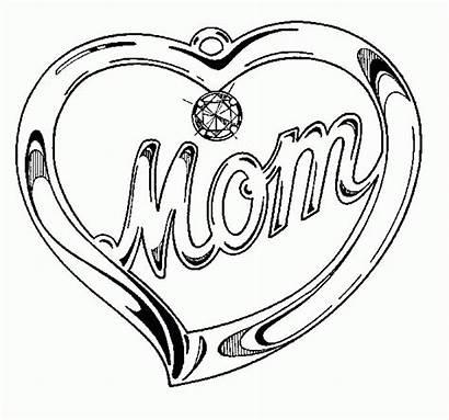 Coloring Hearts Printable Mamma Pourfemme Coloriage Diamant