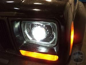 Xj Hid Projector Headlight Build Blackflamecustoms Feedback