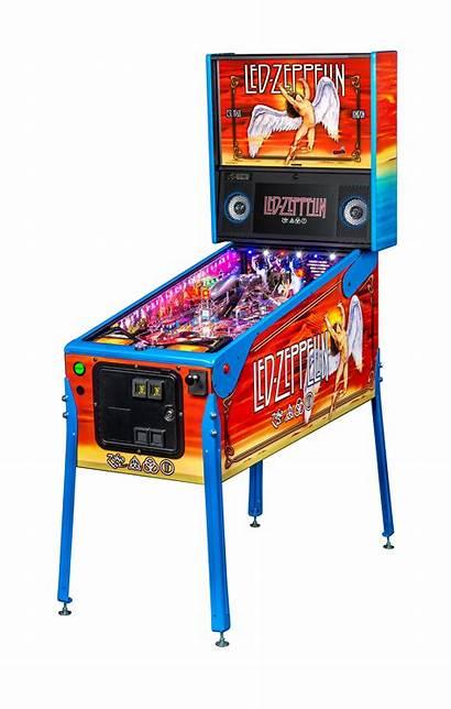 Led Zeppelin Edition Limited Pinball Europe Australia