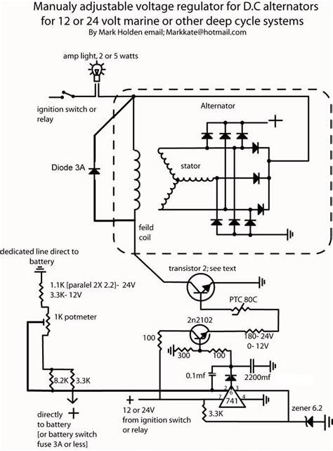 self build adjustable alternator controler diy generator in 2019 voltage regulator diy