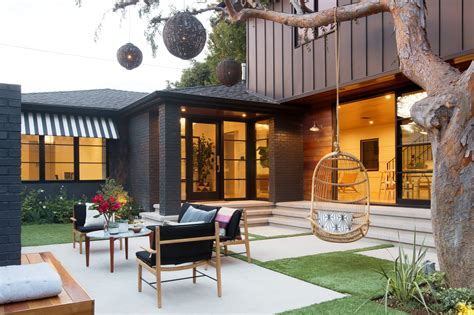 modern patio  design ideas remodel  decor lonny