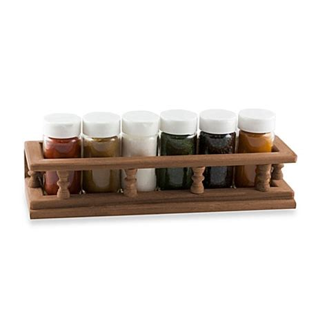 Small Spice Rack by Seateak 174 Small Spice Rack Www Bedbathandbeyond