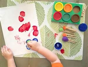 Malen Mit Kleinkindern Ideen : basteln kleinkinder dansenfeesten ~ Watch28wear.com Haus und Dekorationen