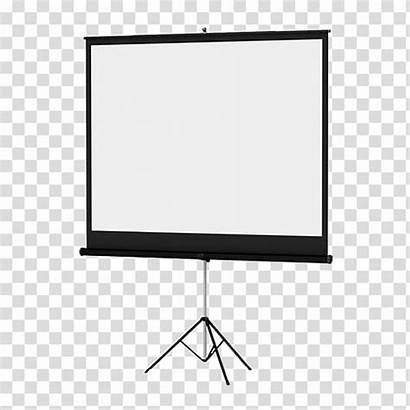 Projector Clipart Slide Screen Transparent Clipground