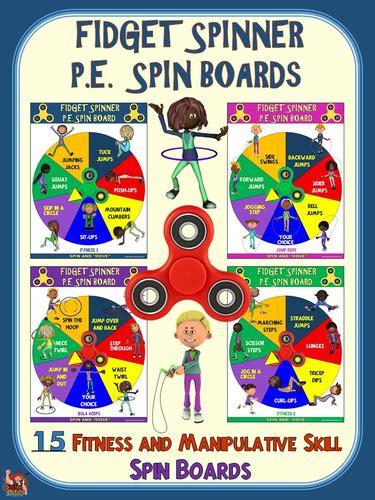 fidget spinner pe spin boards  fitness  manipulative