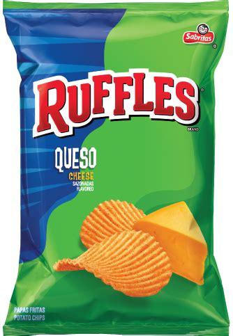 Queso Cheese Ruffles Potato Chips