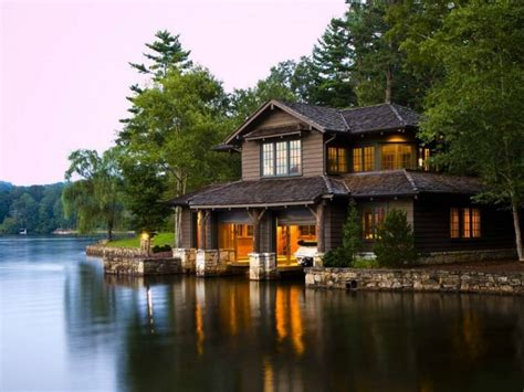 cabin by the lake by the lake house lake cabin house lake houses plans