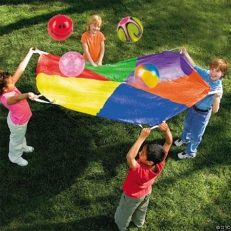 parachute 6ft outdoor play preschool occupational therapy 850 | s l1000