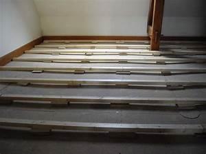 calage lambourde pour plancher a clouer forum With lambourde parquet