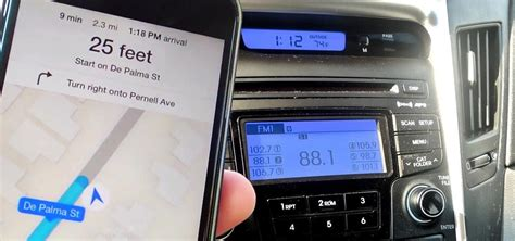 how to play radio on iphone make iphone navigation prompts play your car speakers